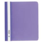 Скоросшиватель пластиковый Buromax, А5, PP, фиолетовый (BM.3312-07)