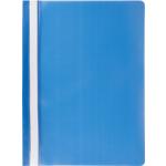 Скоросшиватель пластиковый Buromax, А4, синий (BM.3313-02)