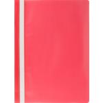 Скоросшиватель пластиковый Buromax, А4, красный (BM.3313-05)