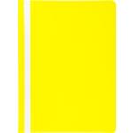 Скоросшиватель пластиковый Buromax, А4, желтый (BM.3313-08)