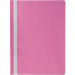 Скоросшиватель пластиковый Buromax, А4, розовый (BM.3313-10)