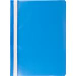 Скоросшиватель пластиковый Buromax, А4, голубой (BM.3313-14)