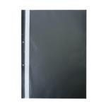 Скоросшиватель Buromax матовый А4(2 отв), черный (BM.3314-01)