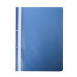 Скоросшиватель Buromax матовый А4(2 отв), синий (BM.3314-02)