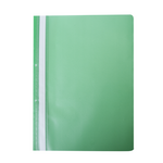 Скоросшиватель Buromax матовый А4(2 отв.), зеленый (BM.3314-04)