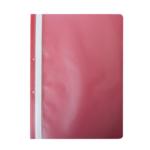 Скоросшиватель Buromax матовый А4(2 отв), красный (BM.3314-05)