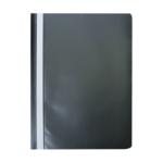 Скоросшиватель Buromax матовый А4(120х180 мкм), черный (BM.3315-01)