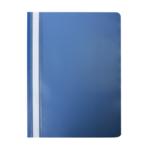 Скоросшиватель Buromax матовый А4(120х180 мкм), темно-синий (BM.3315-03)