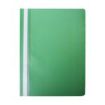 Скоросшиватель Buromax матовый А4(120х180 мкм), зеленый (BM.3315-04)