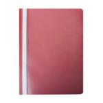 Скоросшиватель Buromax матовый А4(120х180 мкм), красный (BM.3315-05)