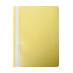 Скоросшиватель Buromax матовый А4(120х180 мкм), желтый (BM.3315-08)