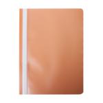 Скоросшиватель Buromax матовый А4(120х180 мкм), оранжевый (BM.3315-11)