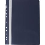 Скоросшиватель пластиковый Buromax Professionall, А4, 11 отв, черный (BM.3331-01)