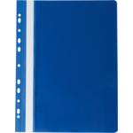Скоросшиватель пластиковый Buromax Professionall, А4, 11 отв, темно-синий (BM.3331-03)