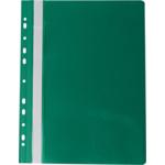 Скоросшиватель пластиковый Buromax Professionall, А4, 11 отв, зеленый (BM.3331-04)
