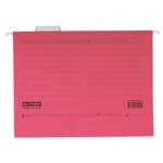 Файлы подвесные Buromax, А4, картон, розовый (BM.3350-10)