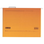 Файлы подвесные Buromax, А4, картон, оранжевый (BM.3350-11)