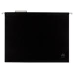 Файлы подвесные Buromax, А4, пластик, черный (BM.3360-01), 12 шт