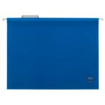 Файлы подвесные Buromax, А4, пластик, синий (BM.3360-02), 12 шт