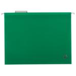 Файлы подвесные Buromax, А4, пластик, зеленый (BM.3360-04), 12 шт
