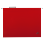 Файлы подвесные Buromax, А4, пластик, красный (BM.3360-05), 12 шт