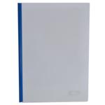 Папка-скоросшиватель с прижимной планкой Buromax, 6 мм, синий (BM.3370-02)