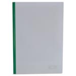 Папка-скоросшиватель с прижимной планкой Buromax, 6 мм, зеленый (BM.3370-04)