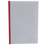 Папка-скоросшиватель с прижимной планкой Buromax, 6 мм, красный (BM.3370-05)