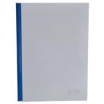 Папка-скоросшиватель с прижимной планкой Buromax, 10 мм, синий (BM.3371-02)
