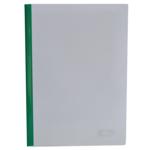 Папка-скоросшиватель с прижимной планкой Buromax, 10 мм, зеленый (BM.3371-04)