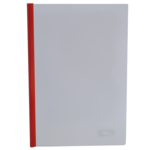Папка-скоросшиватель с прижимной планкой Buromax, 10 мм, красный (BM.3371-05)