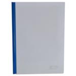 Папка-скоросшиватель с прижимной планкой Buromax, 15 мм, синий (BM.3372-02)