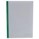 Папка-скоросшиватель с прижимной планкой Buromax, 15 мм, зеленый (BM.3372-04)