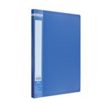 Папка с боковым прижимом Buromax Jobmax, А4, синий (BM.3401-02)