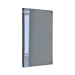 Папка с боковым прижимом Buromax Jobmax, А4, серый (BM.3401-09)