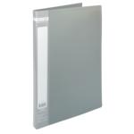 Папка пластиковая со скоросшивателем Buromax Jobmax, А4, серый (BM.3406-09)