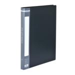 Папка пластиковая со скоросшивателем Buromax, А4, черный (BM.3407-01)