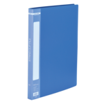 Папка пластиковая со скоросшивателем Buromax, А4, синий (BM.3407-02)
