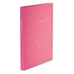Папка пластиковая со скоросшивателем Buromax Barocco, А4, розовый (BM.3409-10)