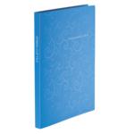 Папка пластиковая со скоросшивателем Buromax Barocco, А4, голубой (BM.3409-14)