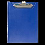 Клипборд Buromax, А5, PVC, темно-синий (BM.3417-03)