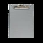 Клипборд Buromax, А5, PVC, серый (BM.3417-09)