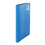 Папка пластиковая со скоросшивателем Buromax Metallic, А4, синий (BM.3451-02)