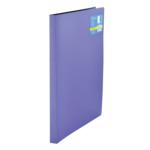 Папка пластиковая со скоросшивателем Buromax Metallic, А4, фиолетовый (BM.3451-07)