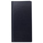 Визитница Buromax, 96 визиток, темно-синий (BM.3521-03)