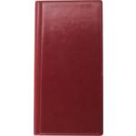 Визитница Buromax, 96 визиток, бордовый (BM.3521-13)