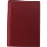 Визитница Buromax, 120 визиток, бордовый (BM.3541-13)