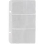 Файл для 6 визиток Buromax, 2 отверстия, 110 х 172 мм, PVC (BM.3591/2)