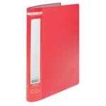 Папка с 10 файлами Buromax Jobmax, А4, красный (BM.3600-05)