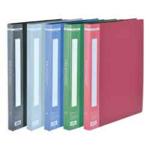 Папка с 20 файлами Buromax, А4, красный (BM.3606-05)